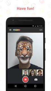 تحميل افضل تطبيق التقاط صور سيلفى MSQRD