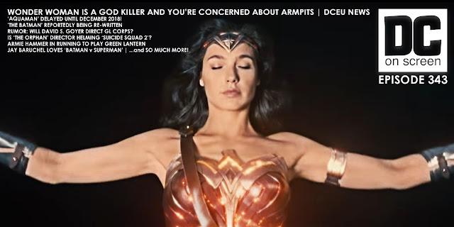 Wonder Woman reveals her god like armpits
