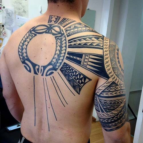 maori tribal dövmeler tattoos 23