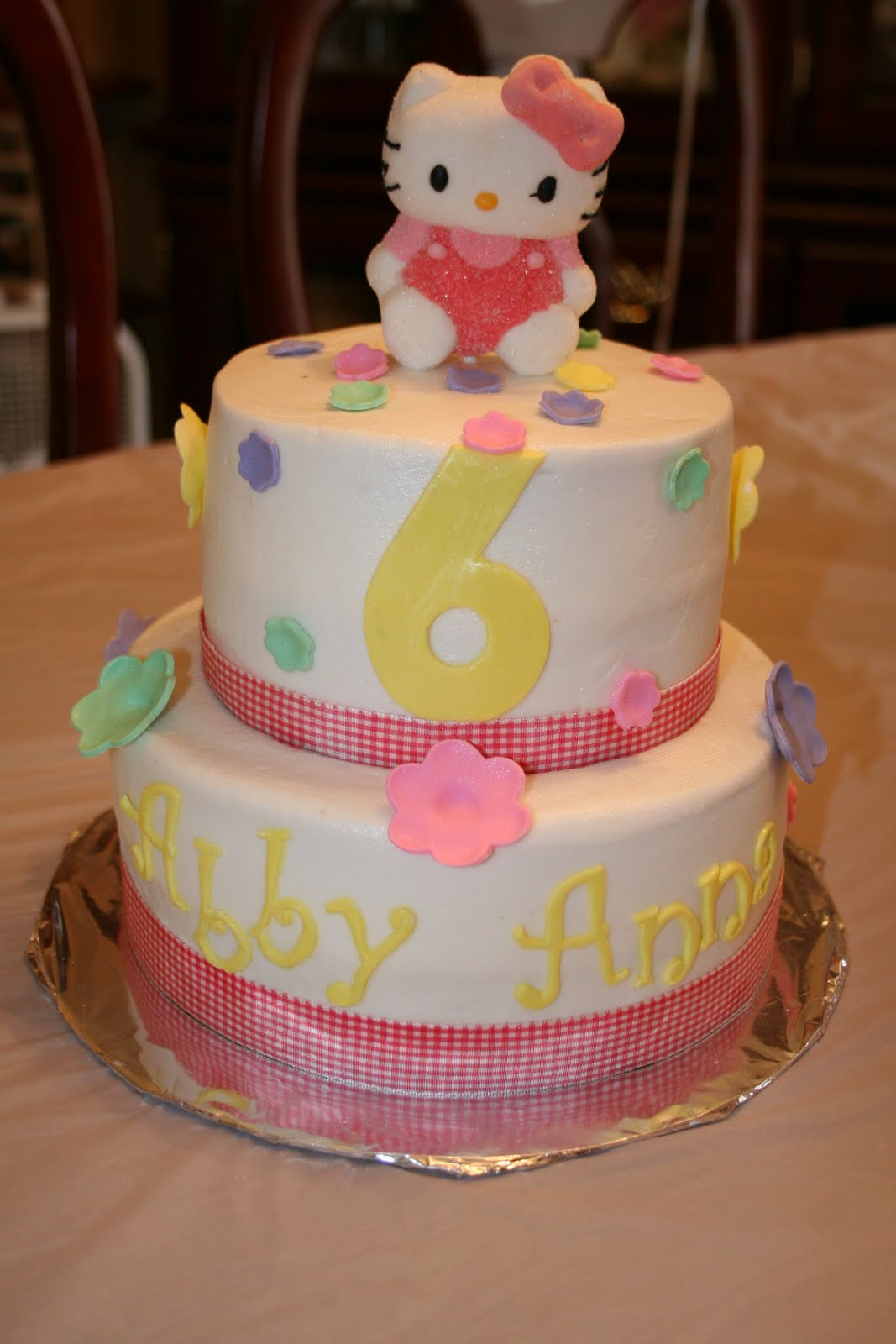 Rachel S Creative Cakes Hello Kitty Cake