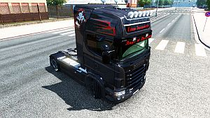 Angel of Darkness skin for Scania RJL