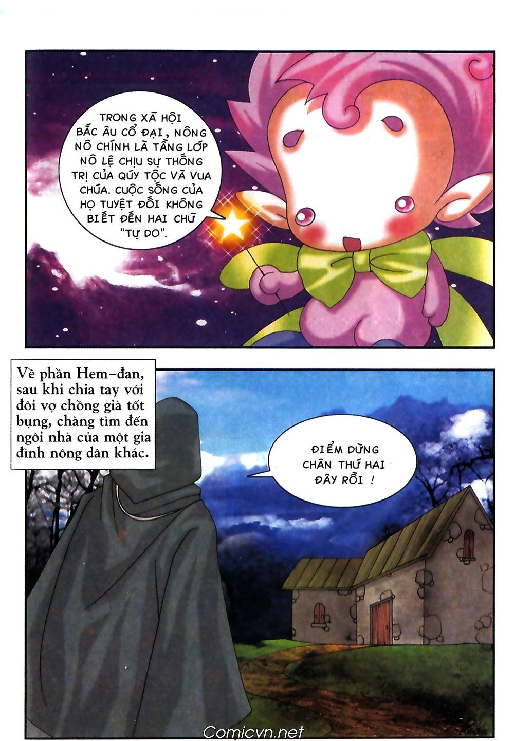 Thần thoại Bắc Âu - Chapter 38: Sứ mệnh đặc biệt - Pic 30