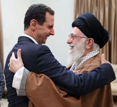 Temui Pemimpin Syiah Iran, Bashar Assad Berterima Kasih Didukung dalam Perang