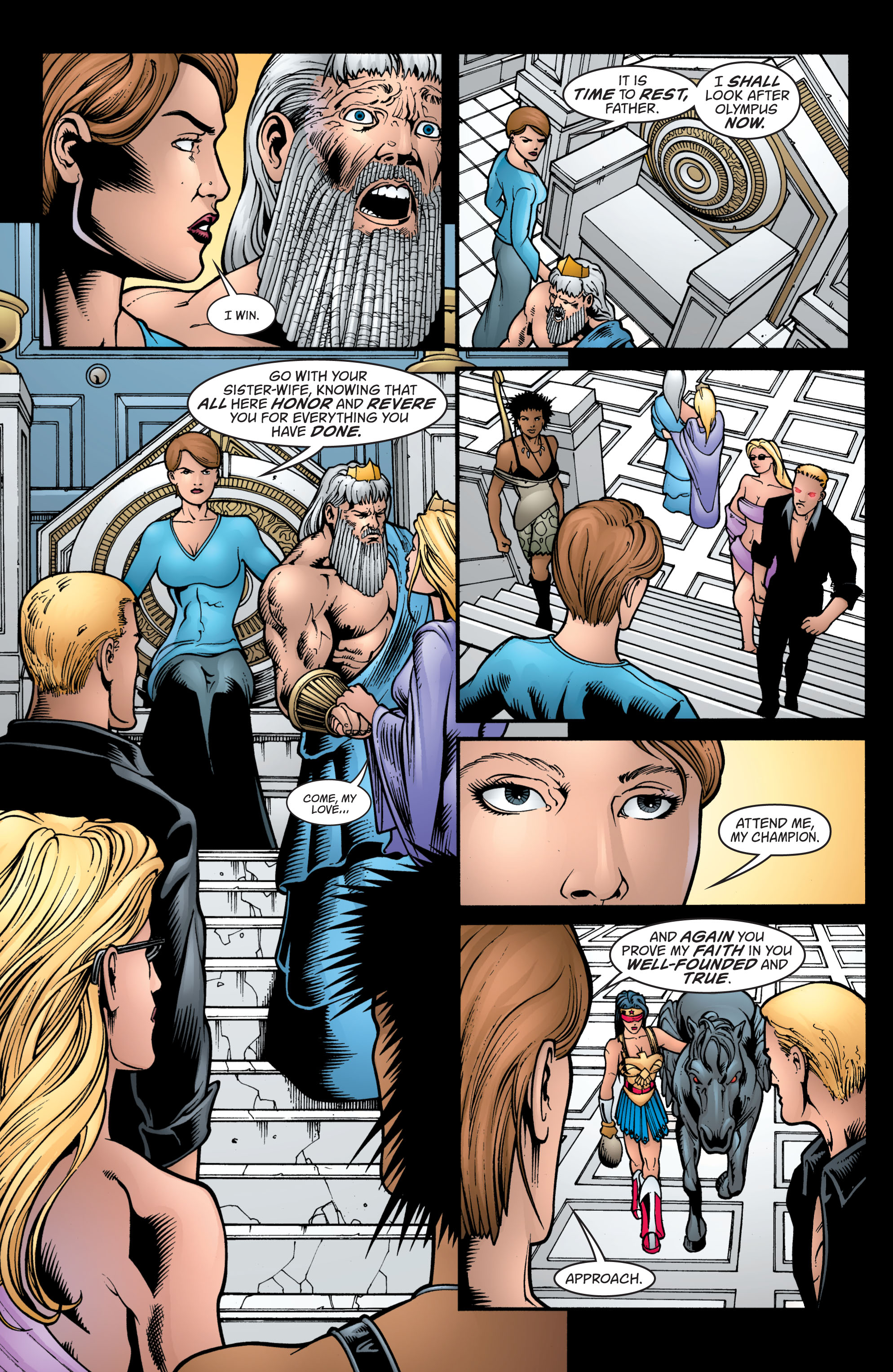 Read online Wonder Woman (1987) comic -  Issue #213 - 17