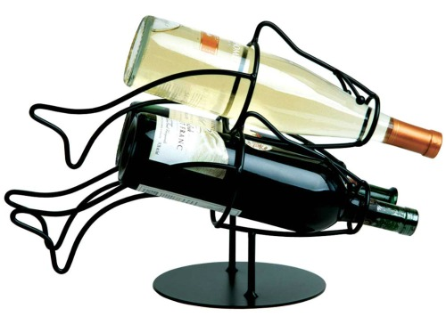 Fish Wine Bottle Rack