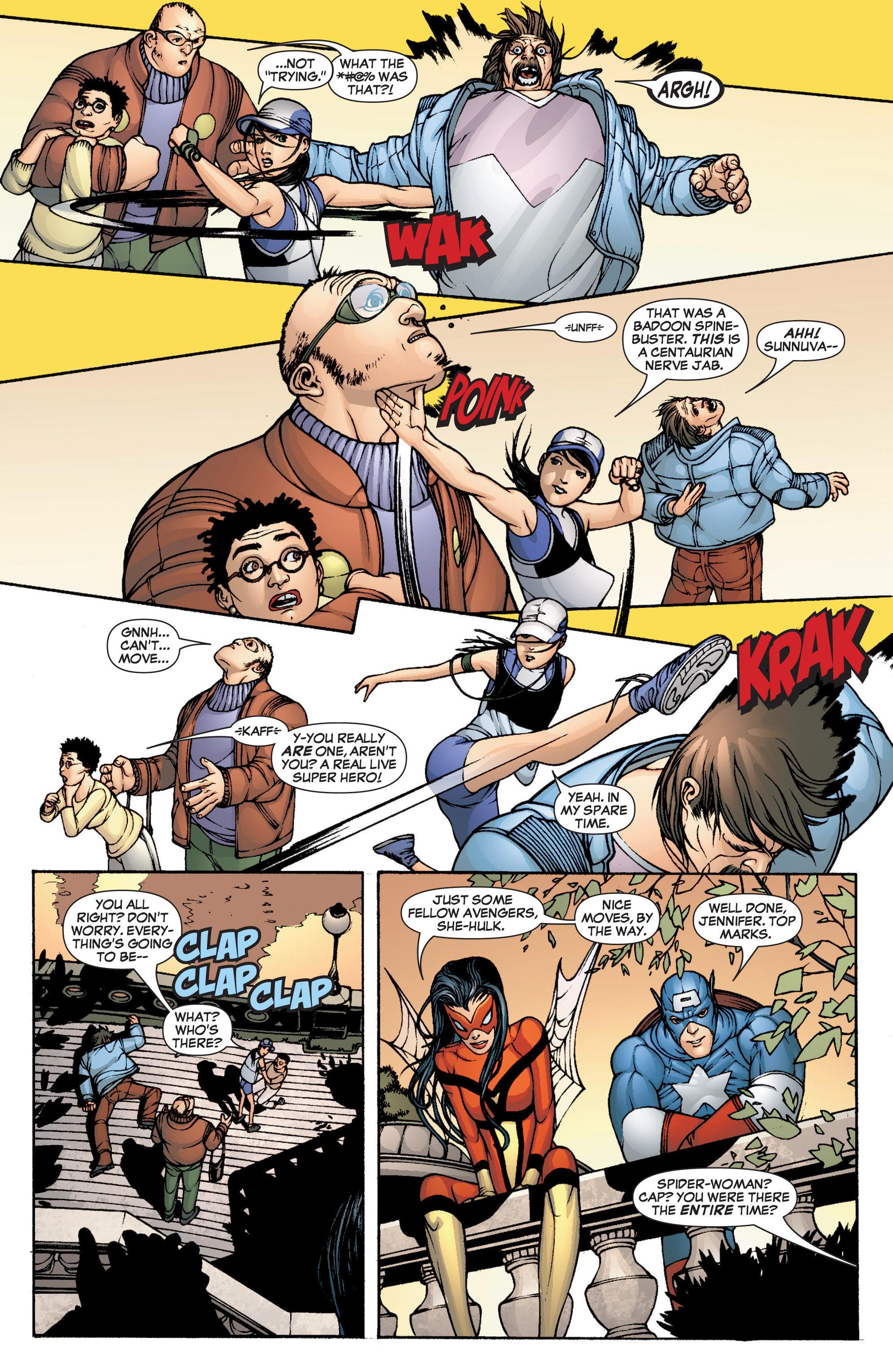 Read online She-Hulk (2005) comic -  Issue #1 - 4