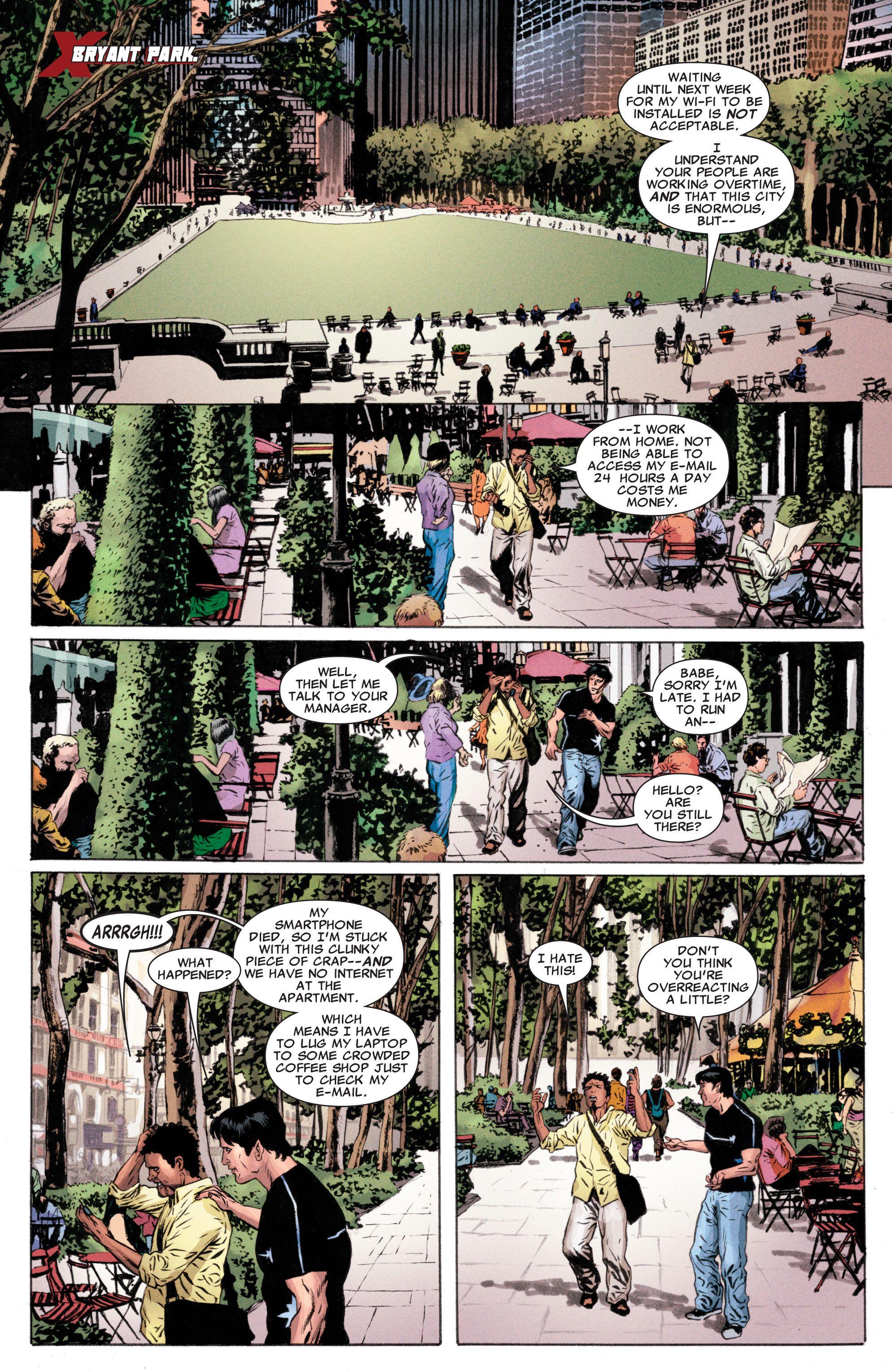 Read online Astonishing X-Men (2004) comic -  Issue #50 - 7