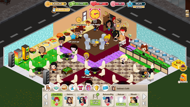Cafeland star world mod apk v1 7 5 dinheiro infinito for Kitchen queen mod apk