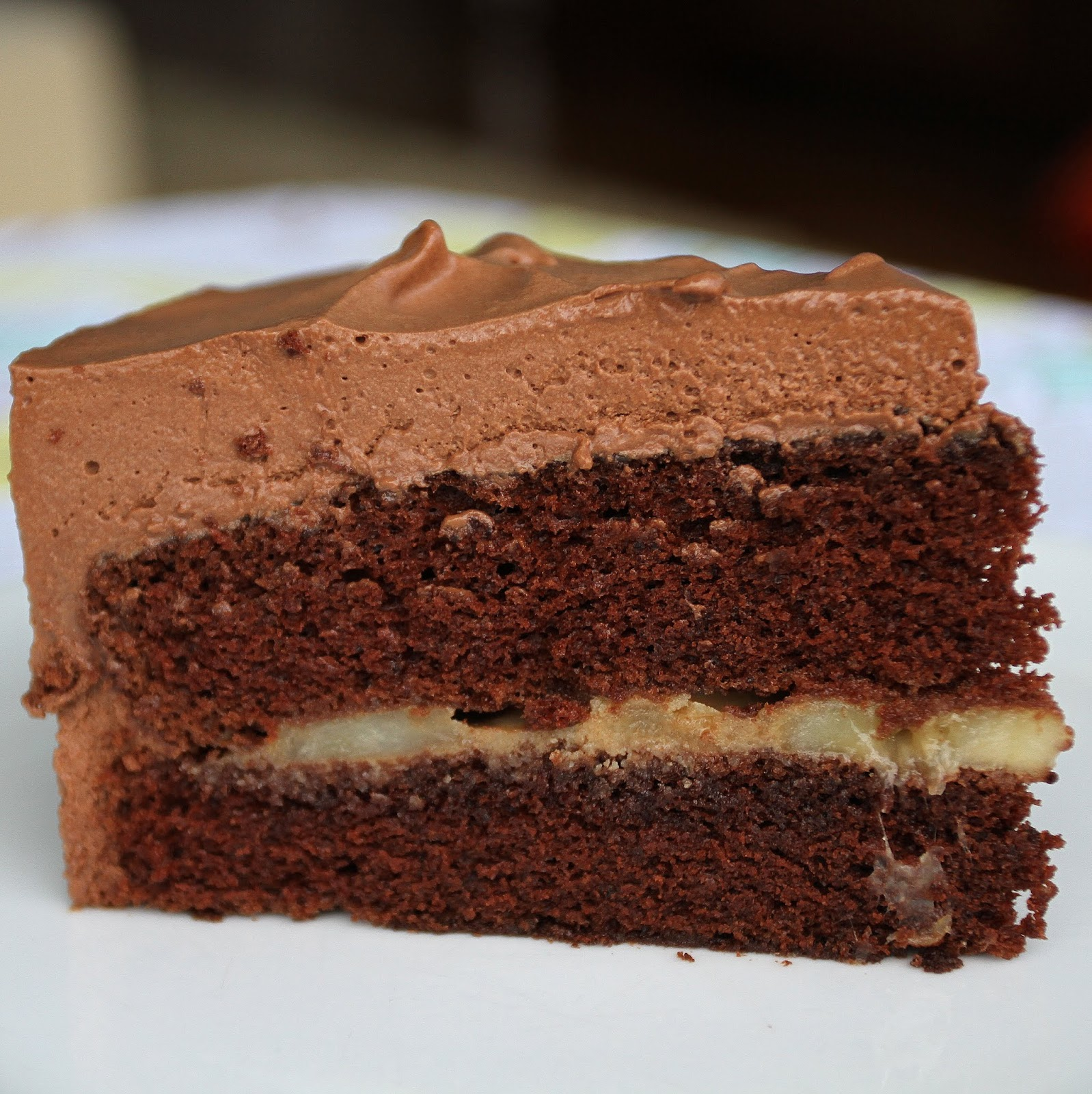 Chocolate mousse filling scene 2