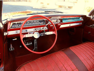 1962 Oldsmobile 98 Luxury Convertible Dashboard