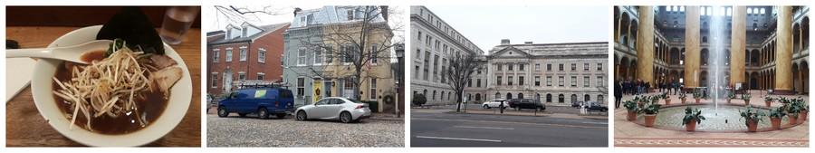 ramens et musées Washington DC