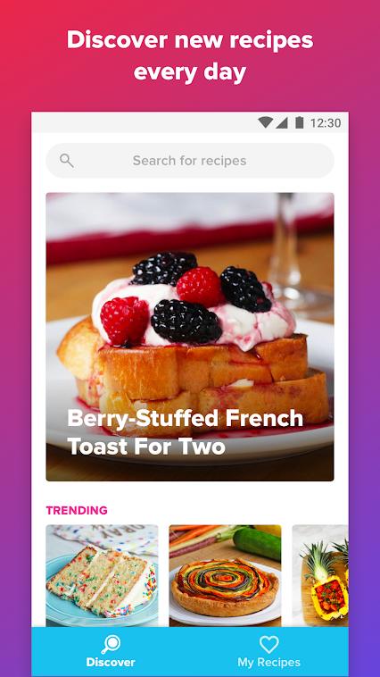 تحميل تطبيق Tasty تطبيق الطهي وصفات طعام جديدة للاندرويد والايفون مجانا برابط مباشر