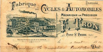 Tron et Berthet à Pont-Saint-Pierre - La selle Idéale.