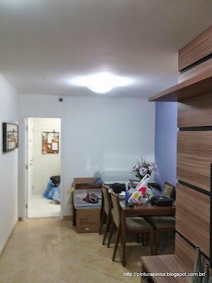 pintura em apartamento
