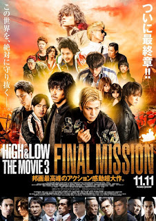 HiGH&LOW The Movie 3: Final Mission (2017) Sub Indo