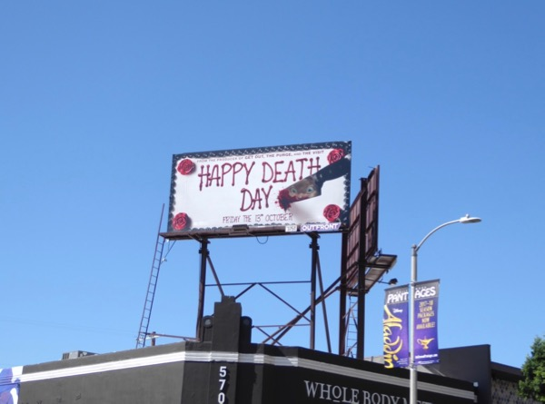Happy Death Day billboard