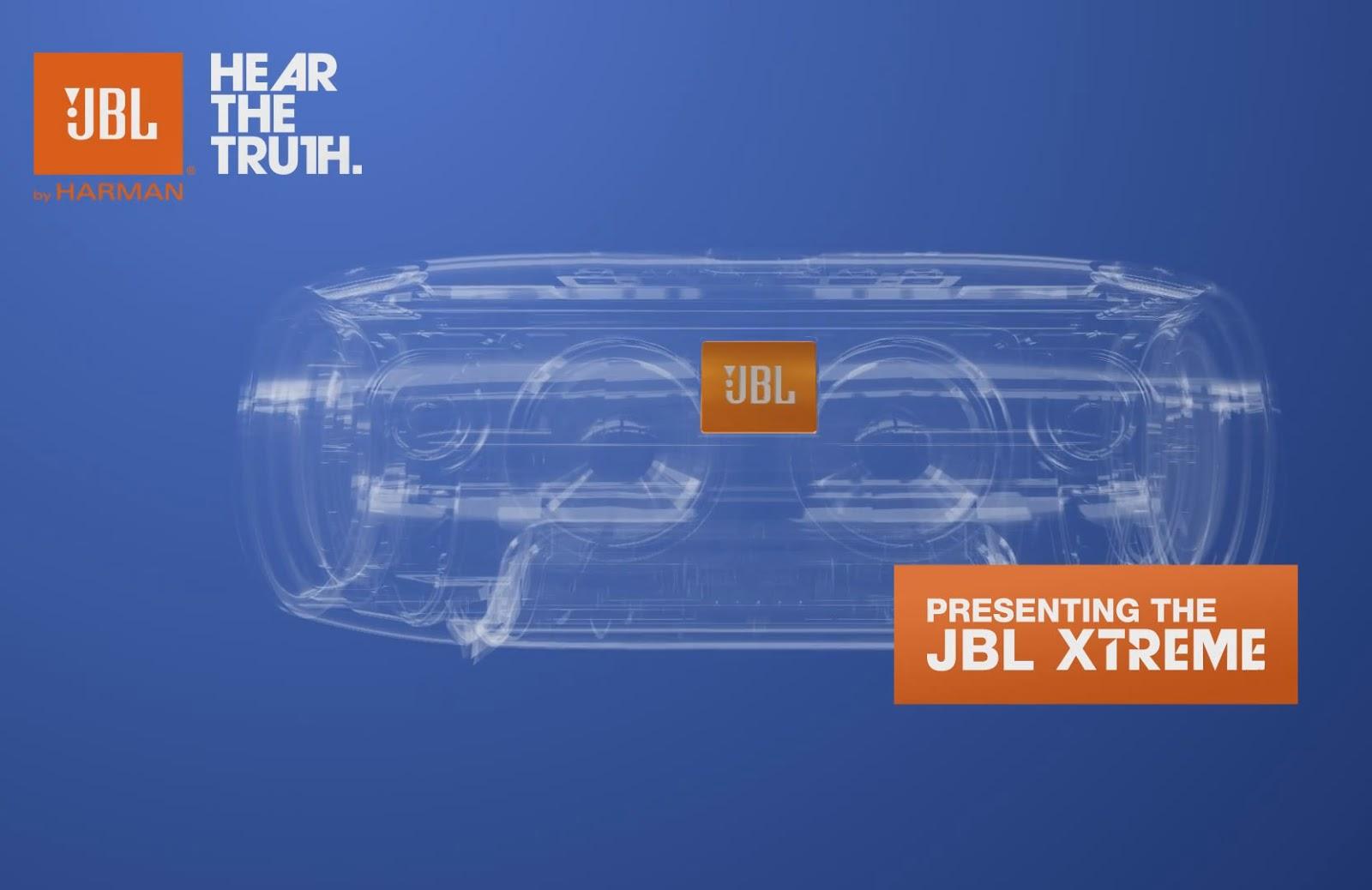 Oluv's Gadgets: News: JBL Xtreme coming soon - blown up JBL