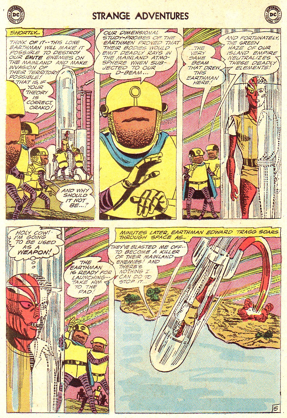 Strange Adventures (1950) issue 181 - Page 8
