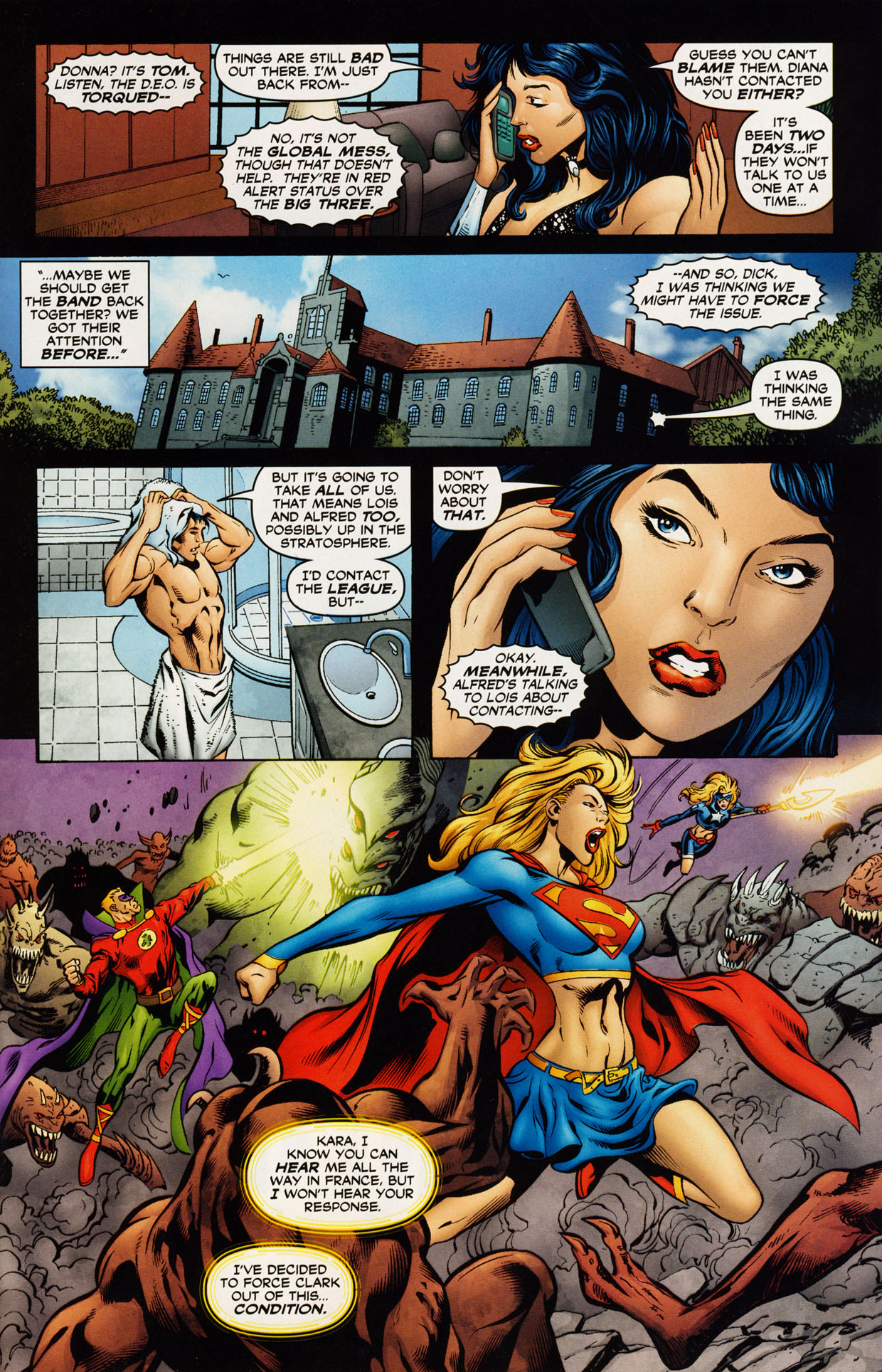 Read online Trinity (2008) comic -  Issue #43 - 22