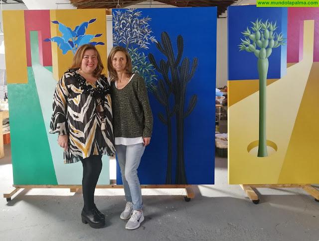 La Ciudad en el Museo de Los Llanos de Aridane estrenará un cuadro de Carmen Cólogan
