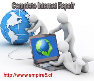 تحميل برنامج Complete Internet Repair لتصليح مشاكل الانترنت برابط مباشر