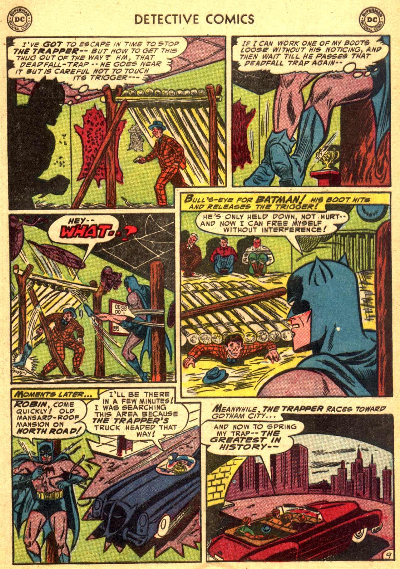 Read online Detective Comics (1937) comic -  Issue #206 - 9