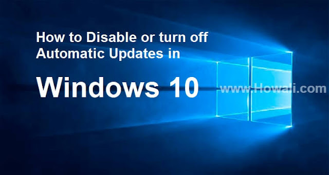 how to turn off auto updates on iphone how to disable turn or stop windows 10 automatic 7627