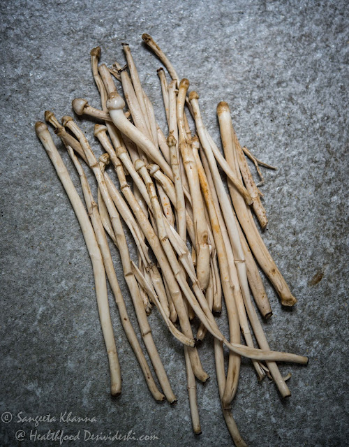 wild mushrooms (dharti ka phool)