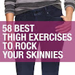 Workouts , fitness and beauty : Thunder Thighs No More: 58 Must-Try Toning Moves