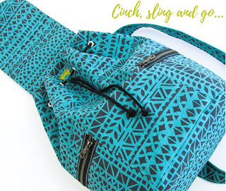 Summer Sling Bag by Sew4Home.com