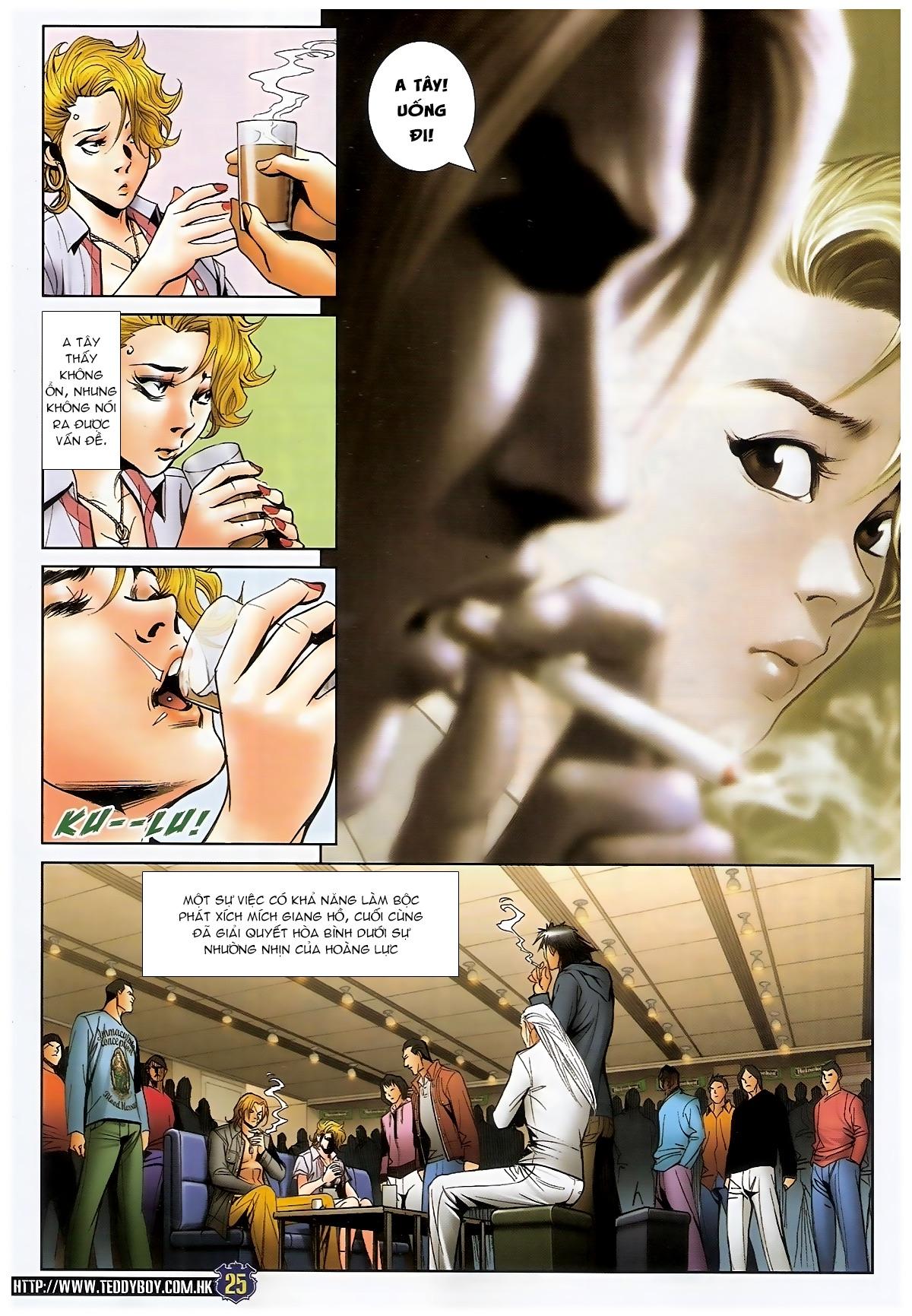 Người Trong Giang Hồ - Chapter 1493: Tốt bụng làm hỏng chuyện - Pic 22
