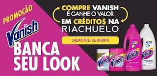 Cadastrar Promoção Vanish 2019 Banca Seu Look Riachuelo