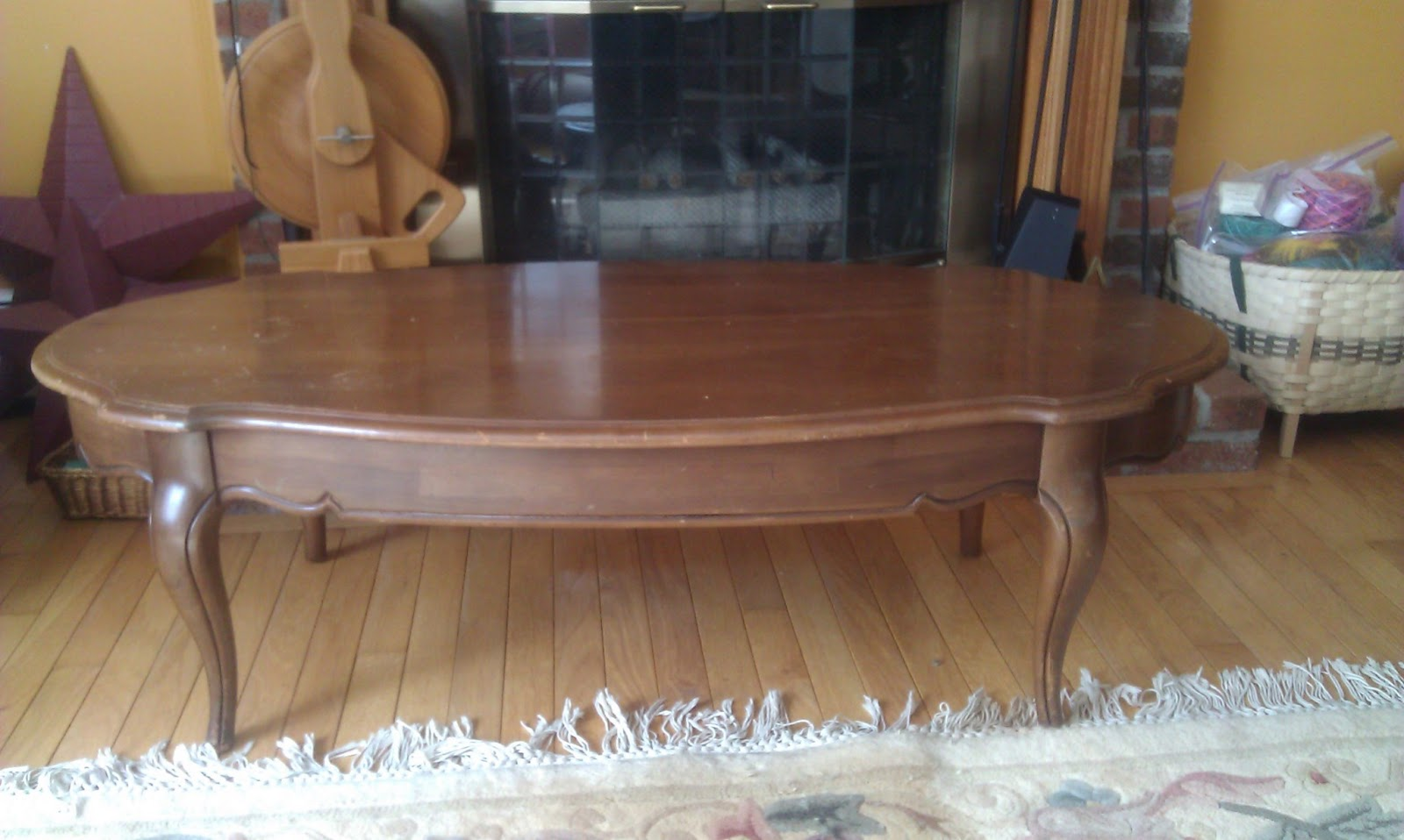 Refinish Coffee Table and End Tables -- Project Log