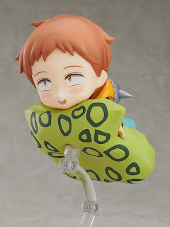 "Nendoroid King de ""Nanatsu no Taizai: Revival of the Commandments"" - Good Smile Company"