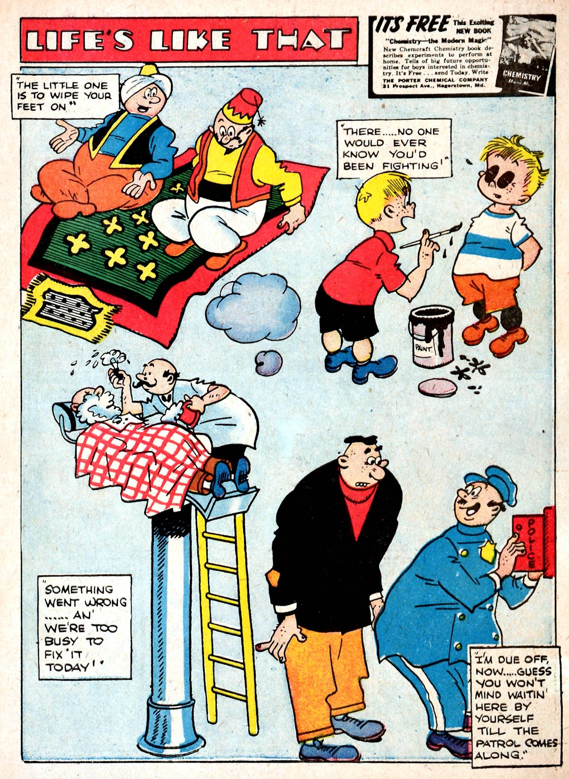 Read online Famous Funnies comic -  Issue #87 - 3