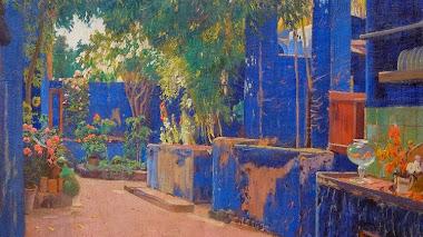 Jardines y patios de Santiago Rusiñol