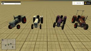 Kramer KL 600 swing axle tractors pack (version 1.2)