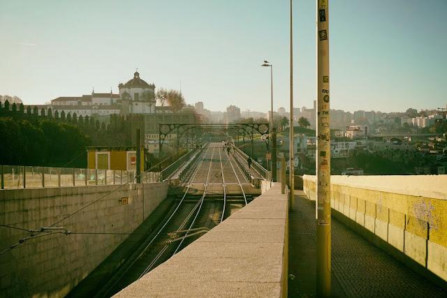 ドンルイス1世橋の上