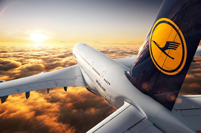 Lufthansa vliegtuig