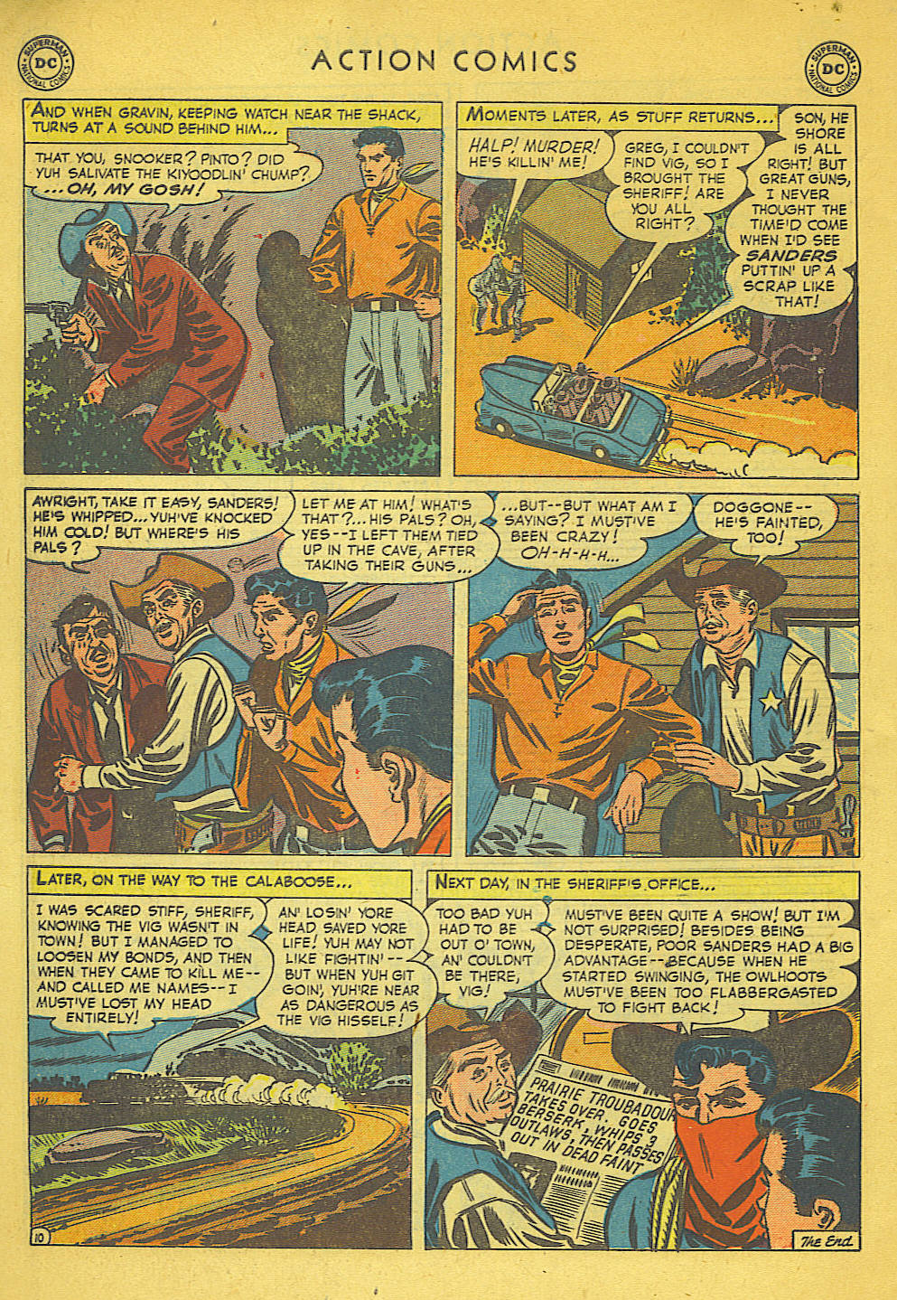 Read online Action Comics (1938) comic -  Issue #158 - 45