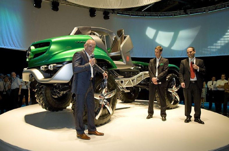 Mercedes-Benz Unimog Concept (2011) ~ Car And Car