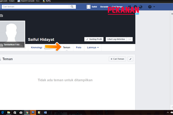 Cara Terbaru Menyembunyikan Daftar Teman Di Facebook