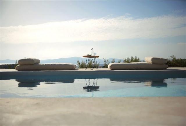 Villa Kamari en Paros chicanddeco