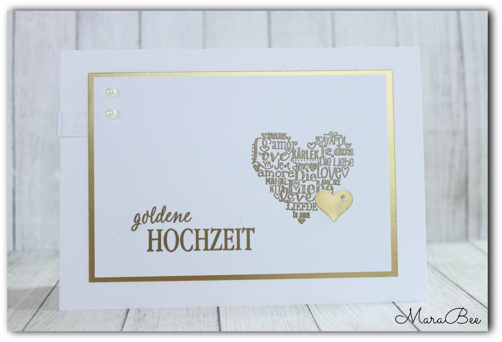 goldene hochzeit karte Goldene Hochzeit