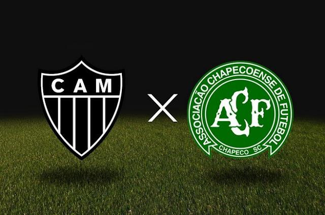 Campeonato brasileiro - Atlético MG x Chapecoense