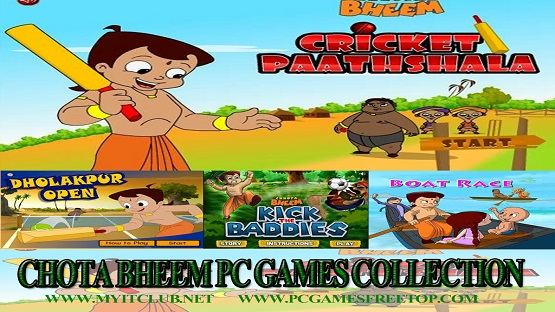 Chota Bheem PC Games Collection Download -PCGAMEFREETOP
