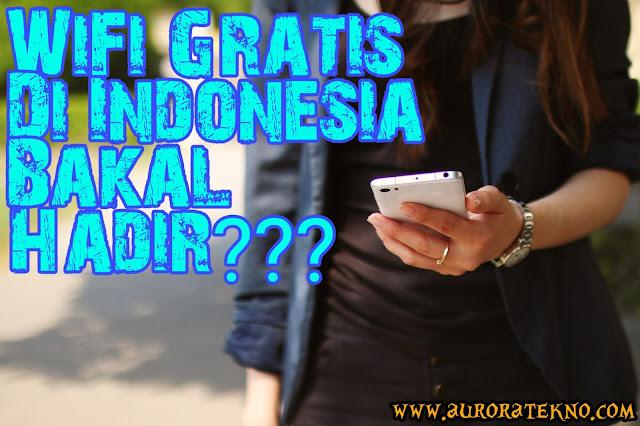 Kabar Gembira!!! WiFi Gratis Dari Google Bakal Hadir Di Indonesia