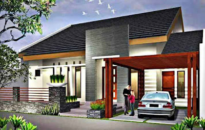 Desain rumah minimalis tipe 60