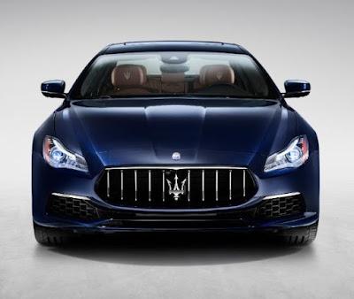 Maserati Quattroporte Exterior Color: Blu Passione, Bianco, Rosso Folgore, Nero Ribelle