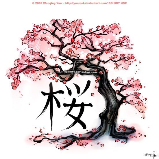 Bonsai Tattoo Meaning: Mis Poemas: Flor Del Cerezo